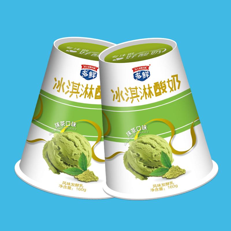 多鲜冰淇淋抹茶酸奶
