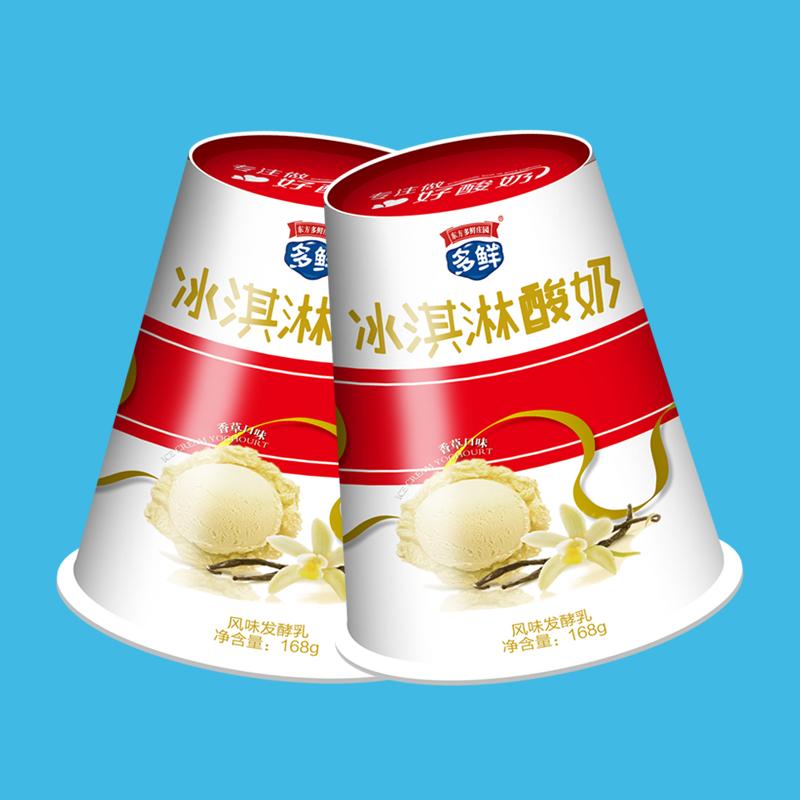 多鲜冰淇淋香草味酸奶